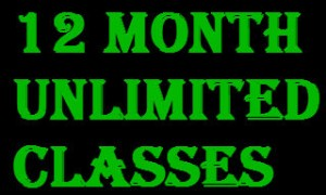12 Months unlimited classes